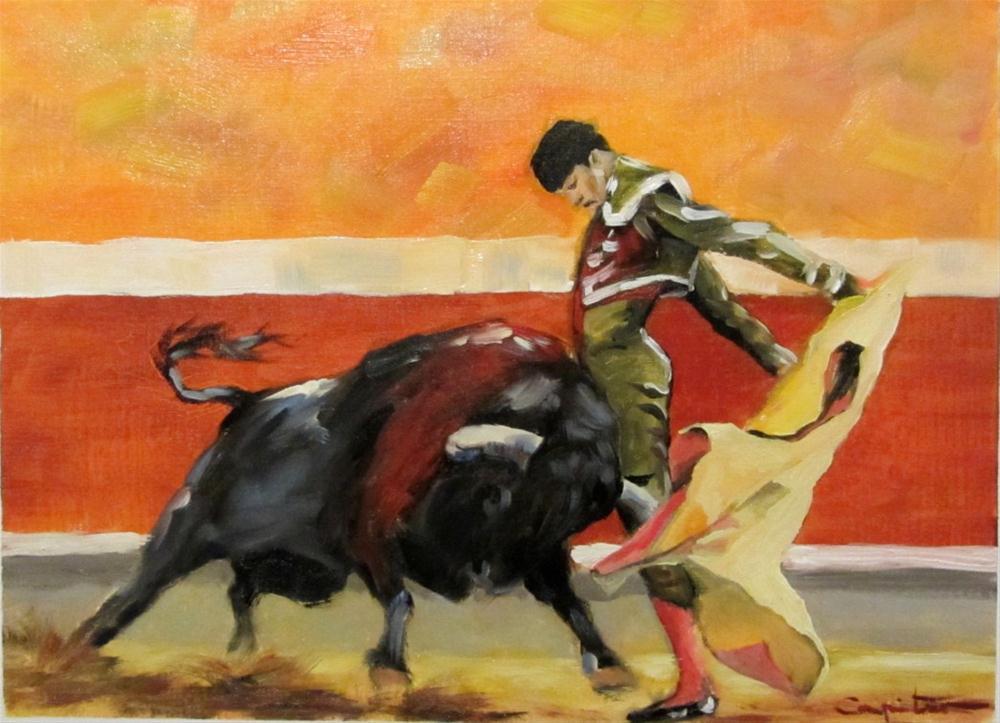 """""""Gaonera"""" original fine art by Eduardo Carpintero"""