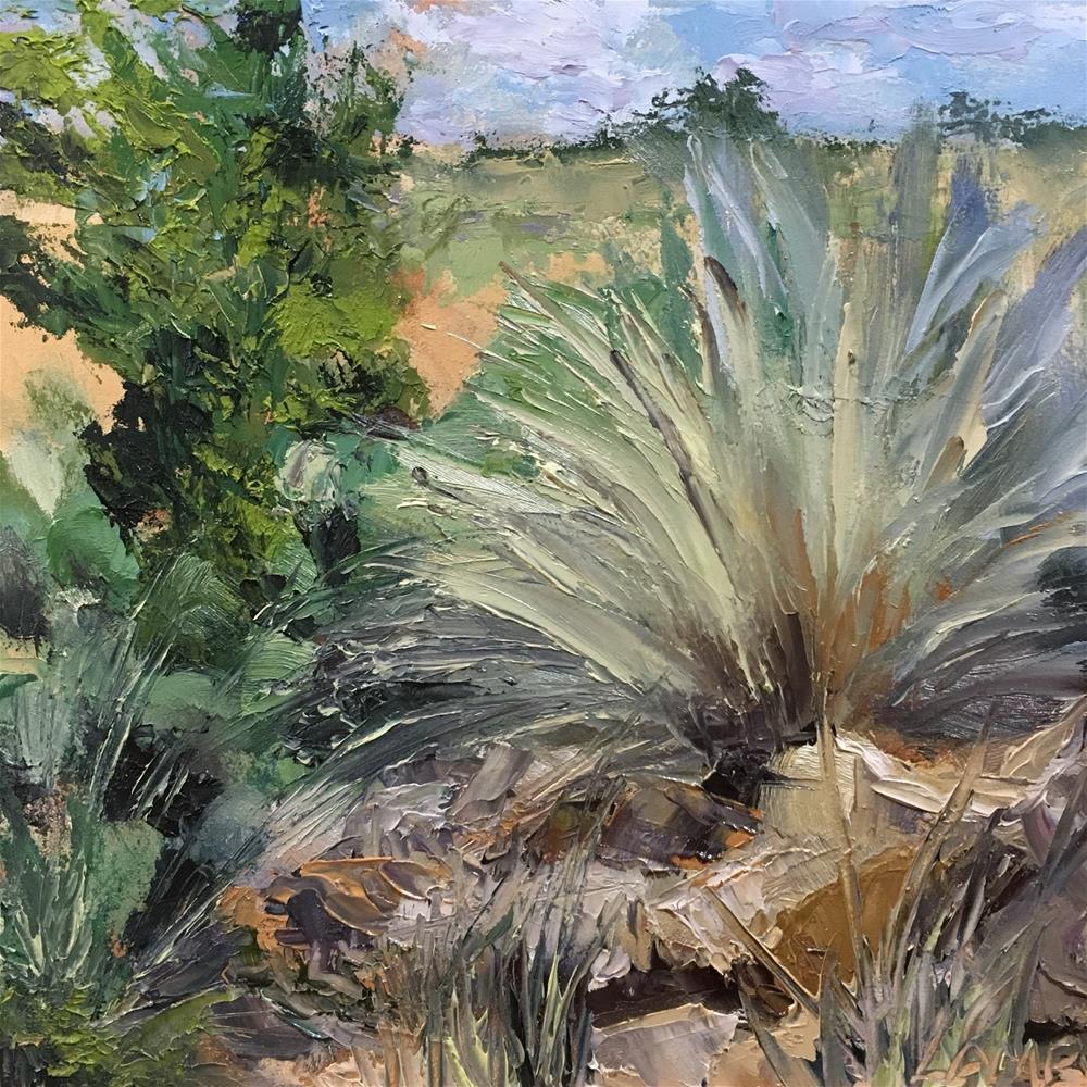 """Texas Landscape"" original fine art by Lori Lamb"