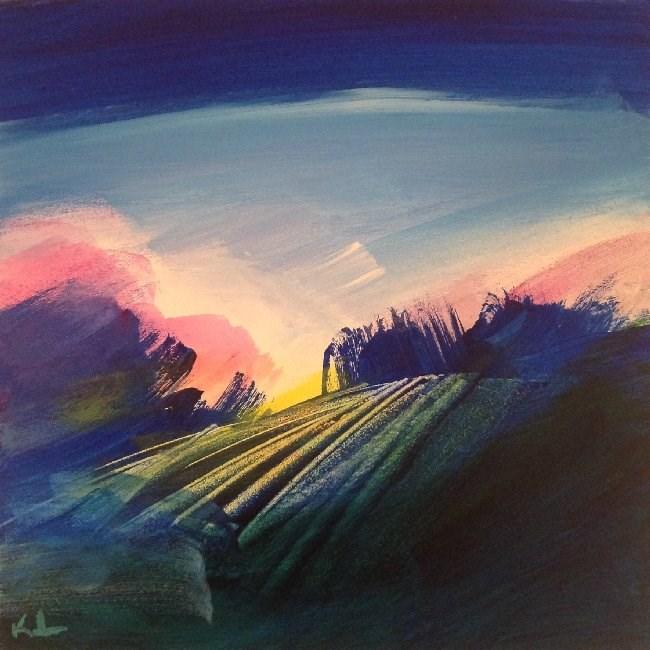 """Morning Glory"" original fine art by David Kuhn"