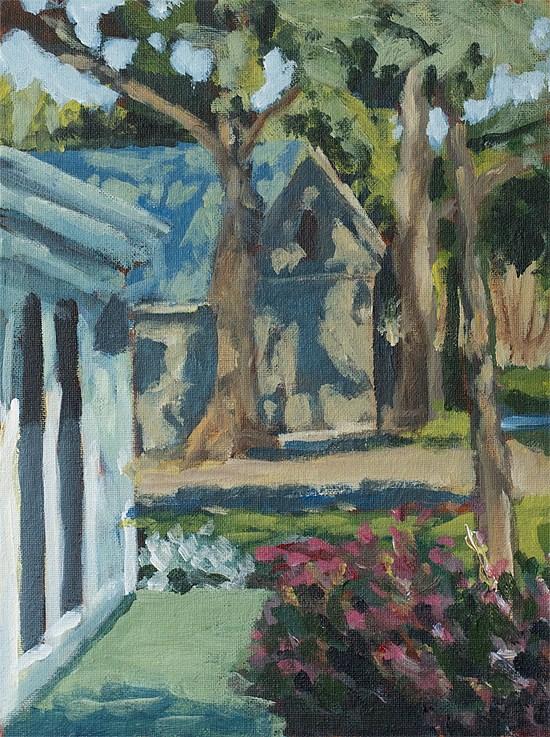 """""""Sonoma Studio"""" original fine art by J. Farnsworth"""