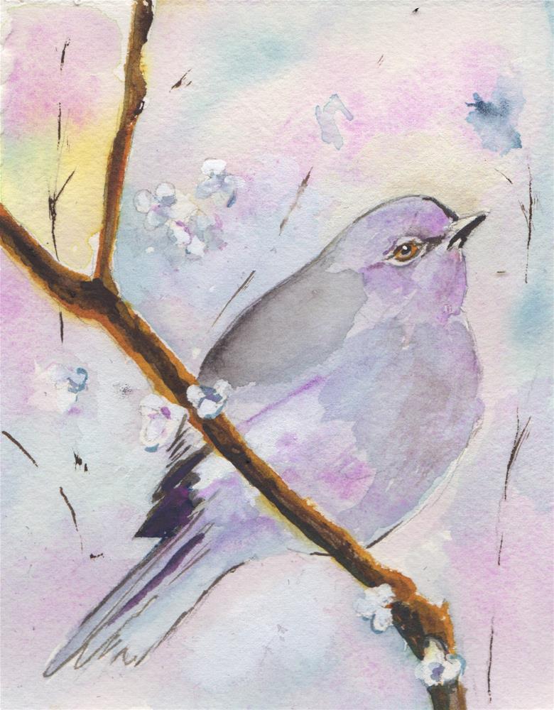 """""""Mockingbird"""" original fine art by Bunny Griffeth"""