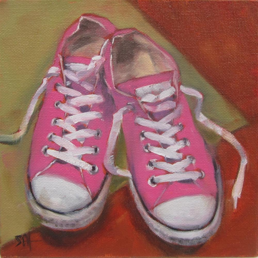 """Change it UP"" original fine art by Sandy Haynes"