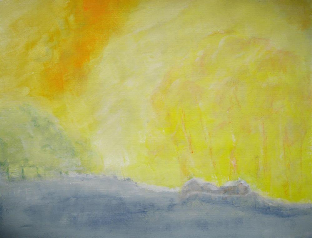 """Summery Day"" original fine art by Alina Frent"