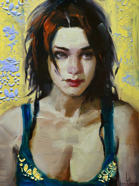 """Laced"" original fine art by John Larriva"