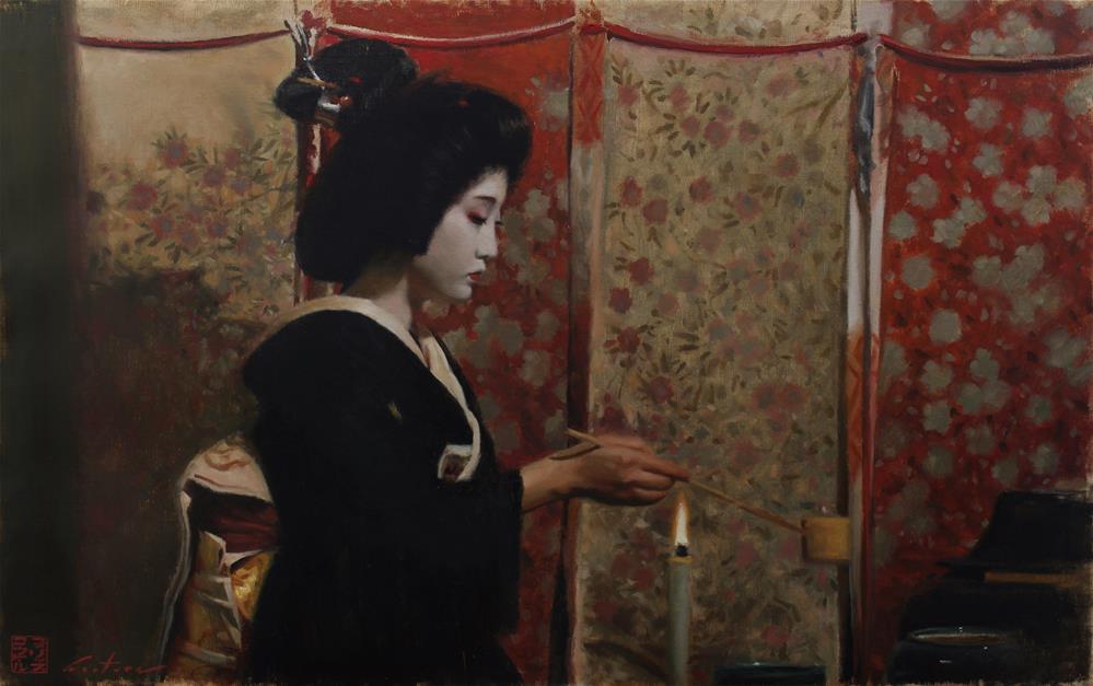 """Chanoyu"" original fine art by Phil Couture"