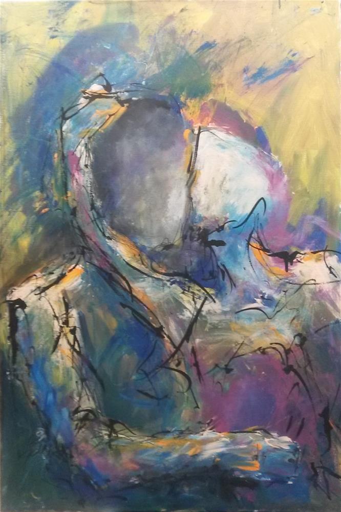 """""""Desire"""" original fine art by Terri Einer"""