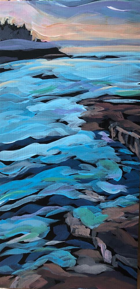 """Changing Colors"" original fine art by Kat Corrigan"