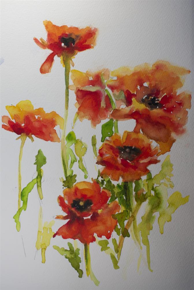 """Untitled"" original fine art by Sue Churchgrant"