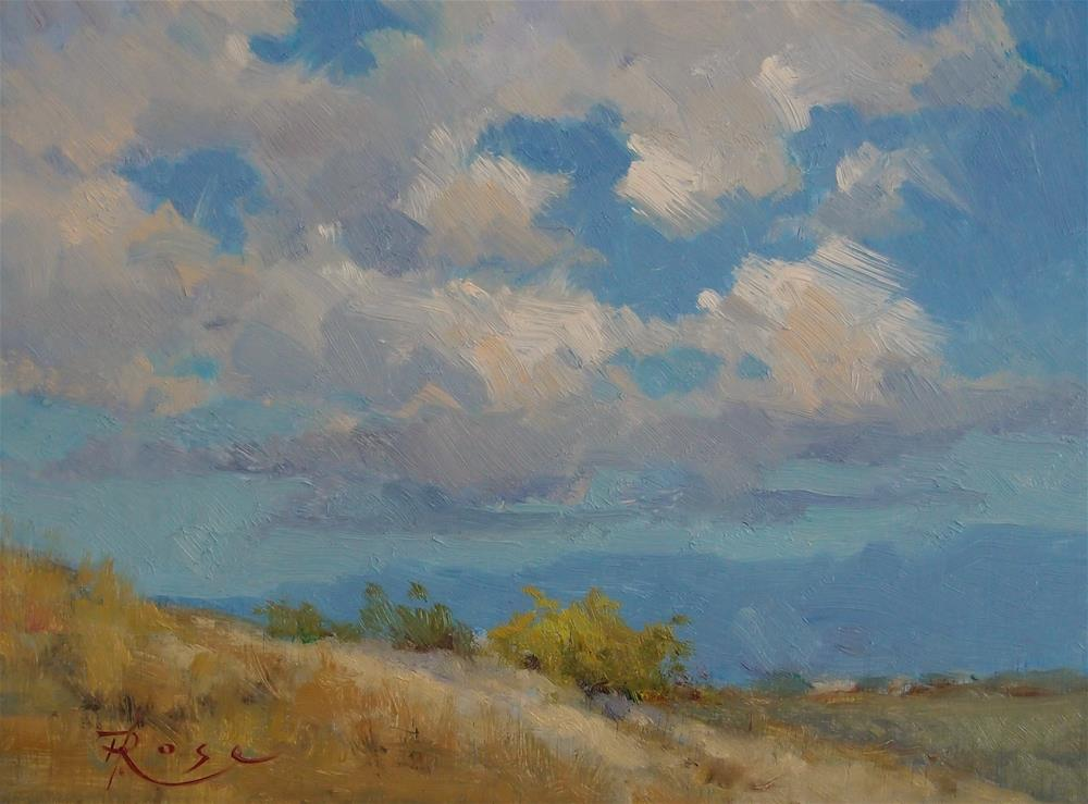 """montana sky"" original fine art by Howard Rose"