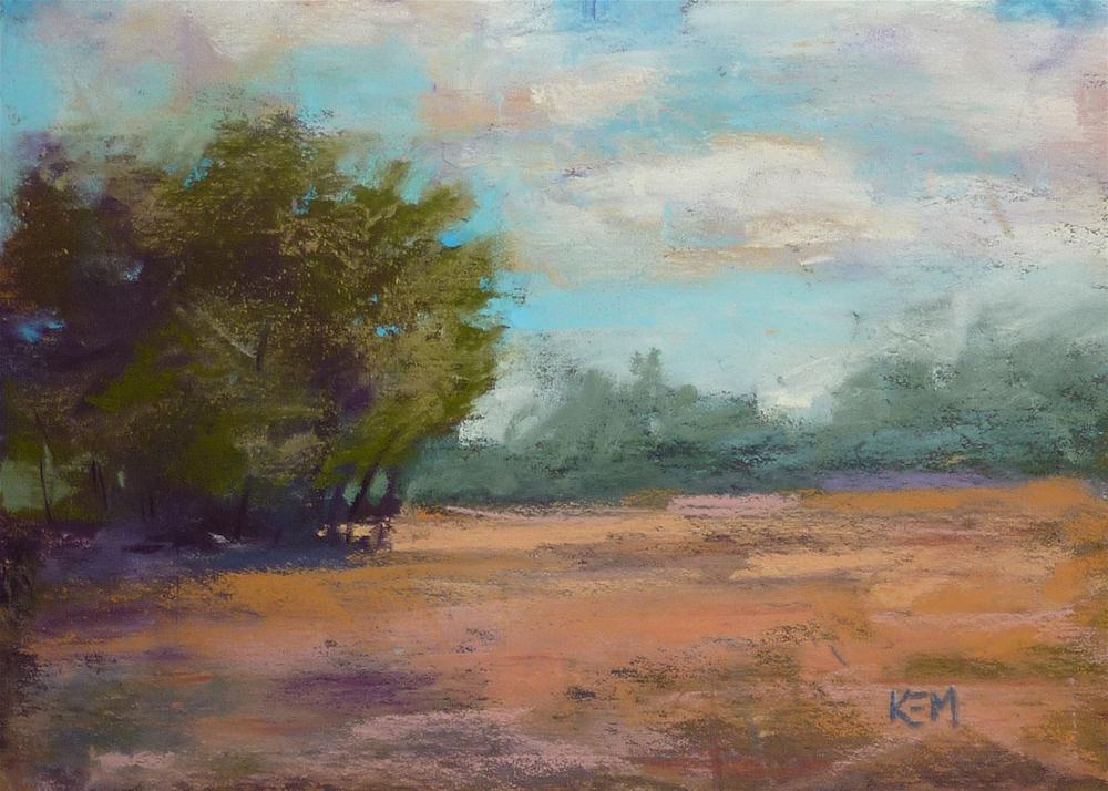 """""""Landscape Variation 3"""" original fine art by Karen Margulis"""