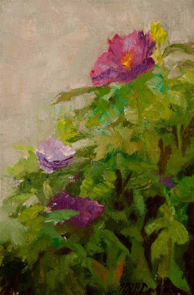 """Sea Roses"" original fine art by Millard Davidson"