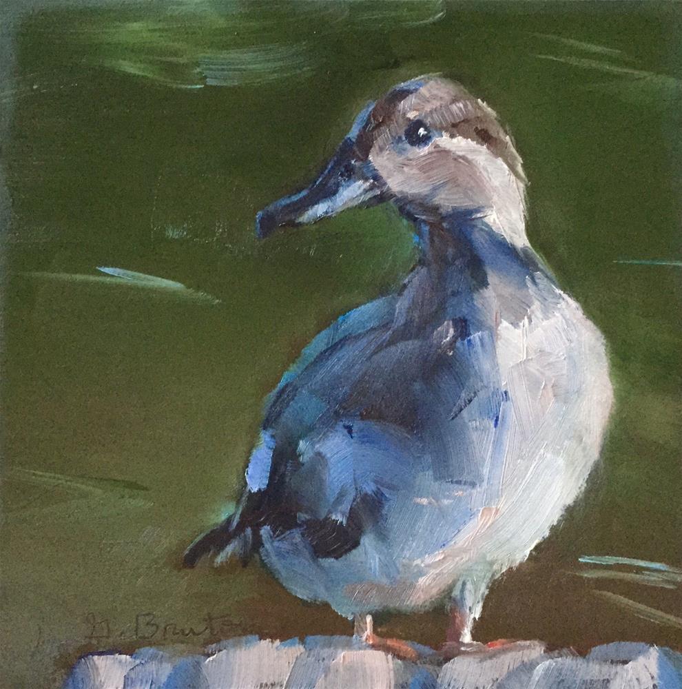 """""""Gadwall"""" original fine art by Gary Bruton"""