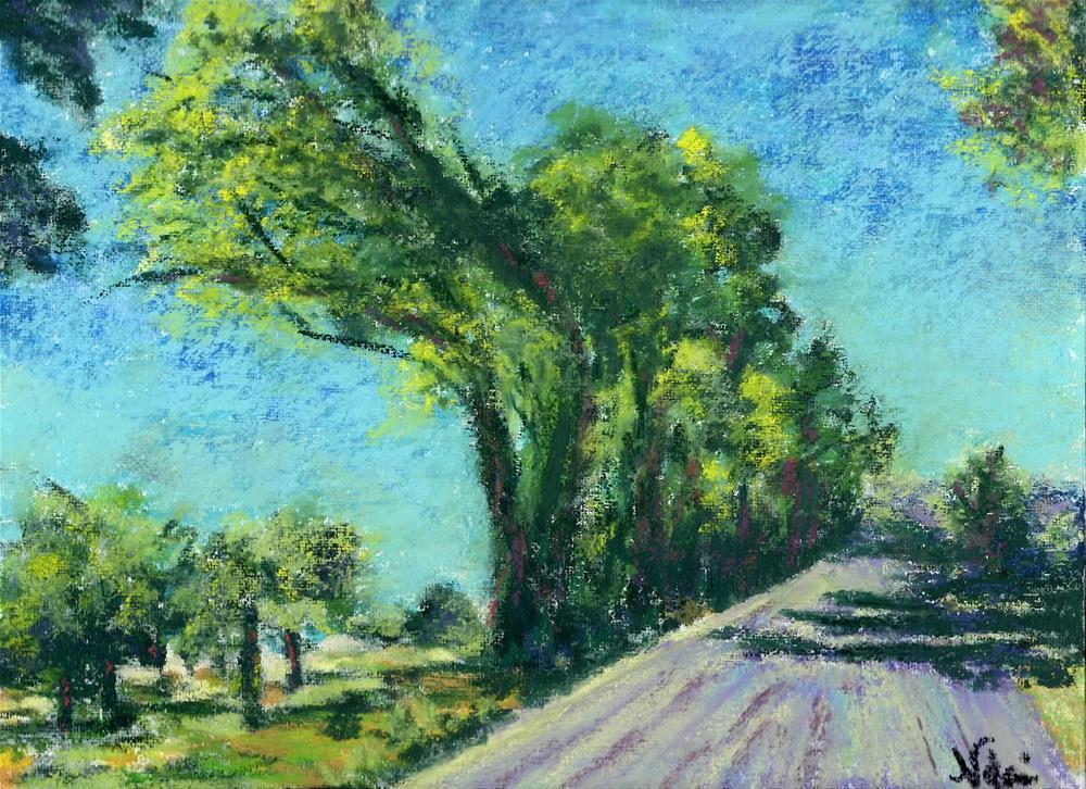 """The Road to Reno"" original fine art by Niki Hilsabeck"