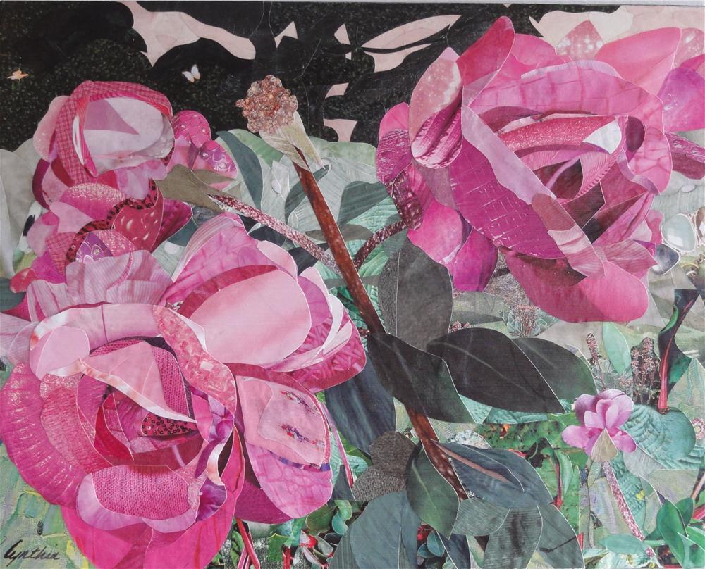 """""""Pretties in Pink"""" original fine art by Cynthia Frigon"""