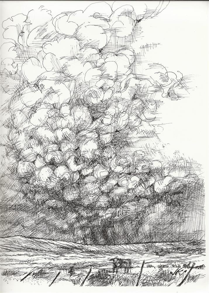 """""""CR-119, Westtcliffe, CO"""" original fine art by Jean Krueger"""