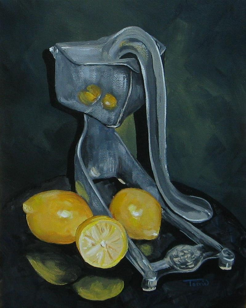"""Grandma's Lemons"" original fine art by Torrie Smiley"