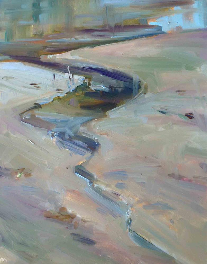 """Yaquina Bay Plein Air"" original fine art by Patti McNutt"