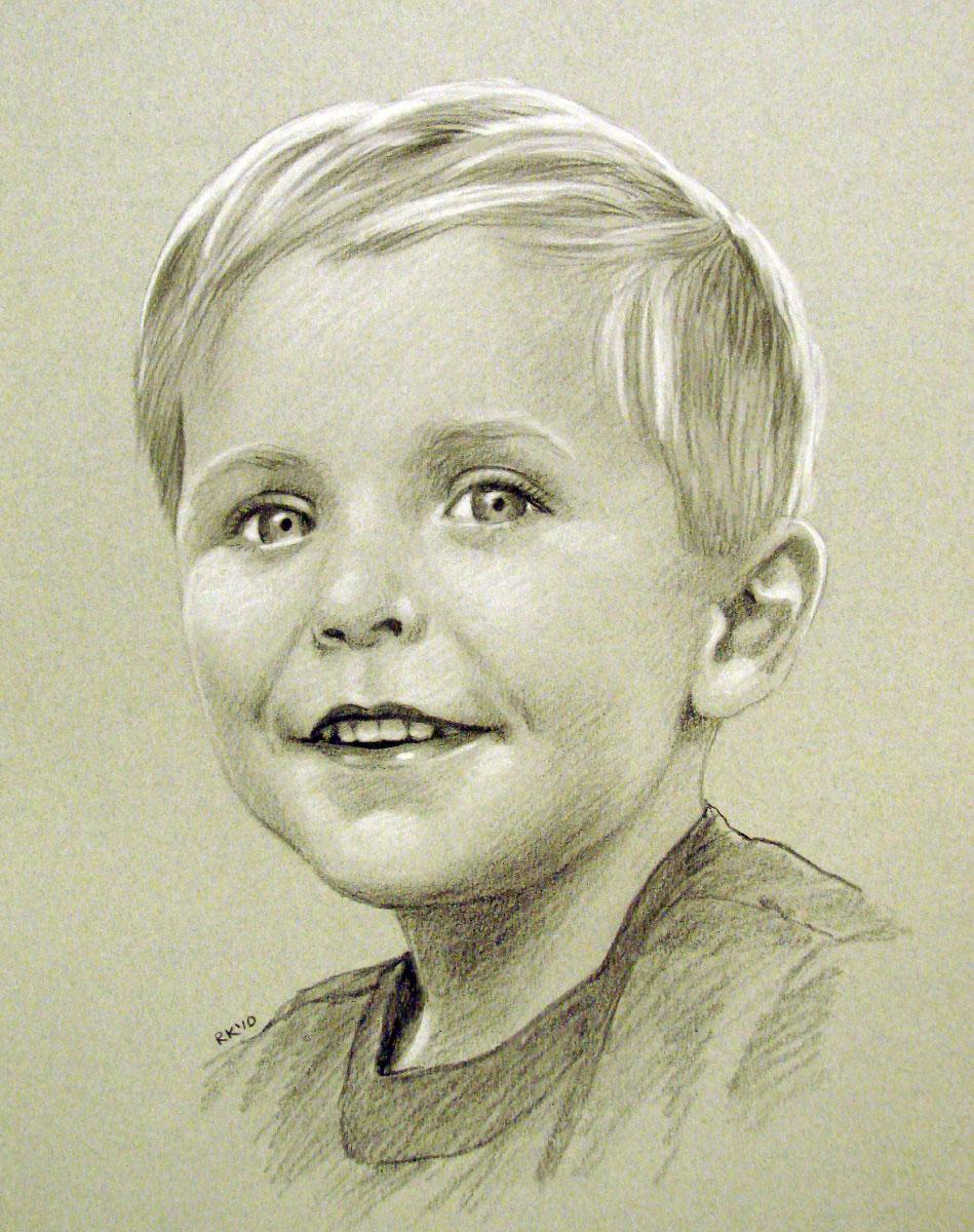 """""""A Portrait Commission"""" original fine art by Rita Kirkman"""