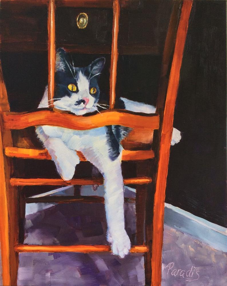 """Eli Manning"" original fine art by Rita Paradis"