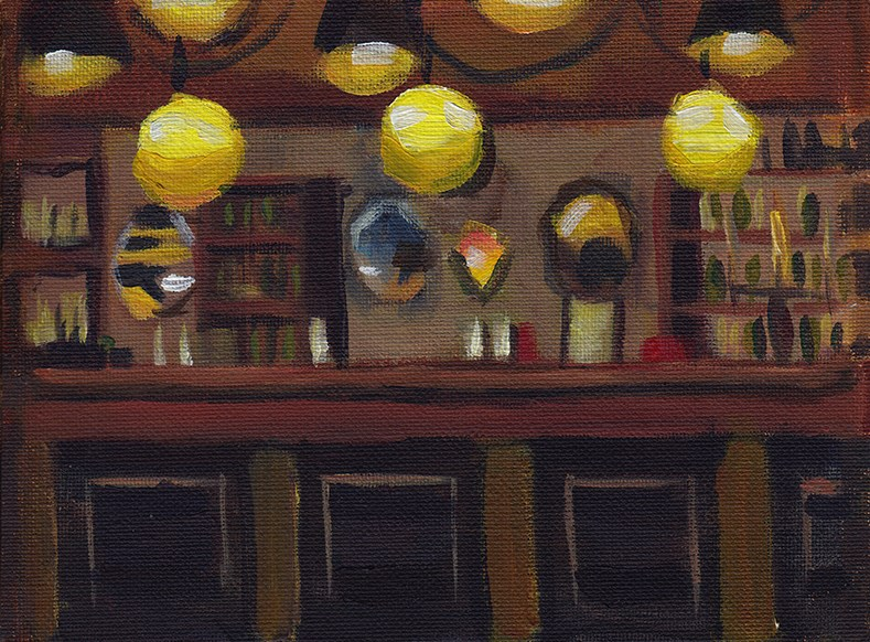 """The Cultivo Lounge"" original fine art by J M Needham"