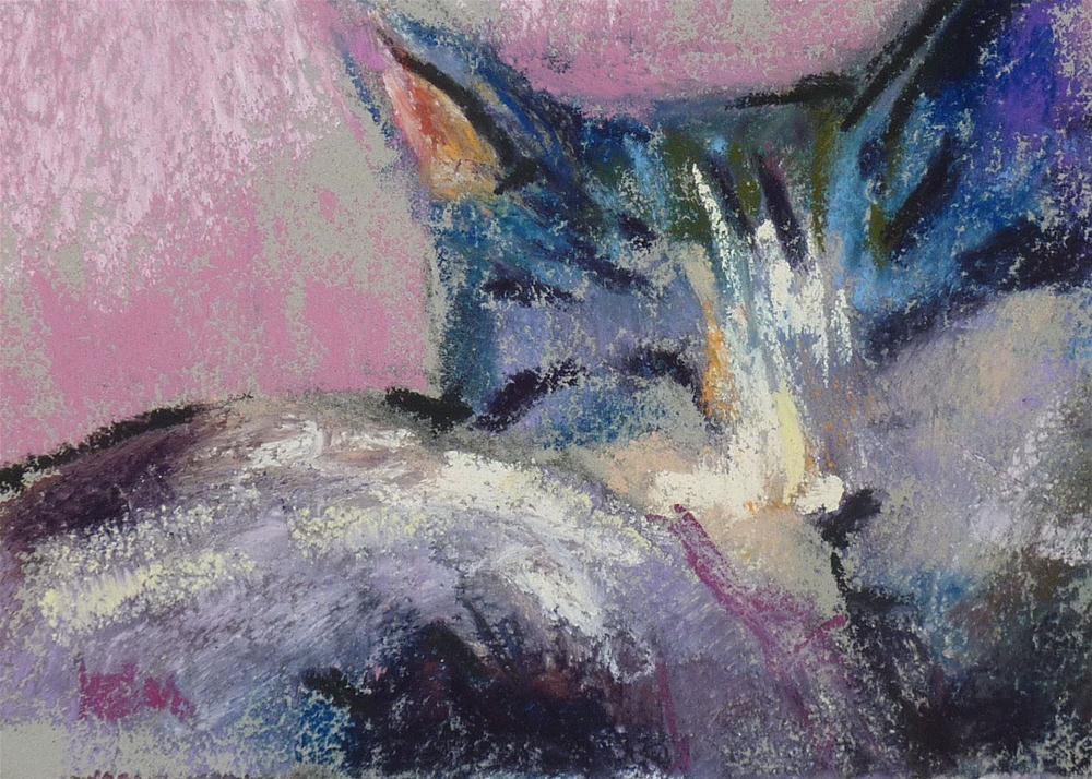 """""""All that Jazz"""" original fine art by Karen Margulis"""
