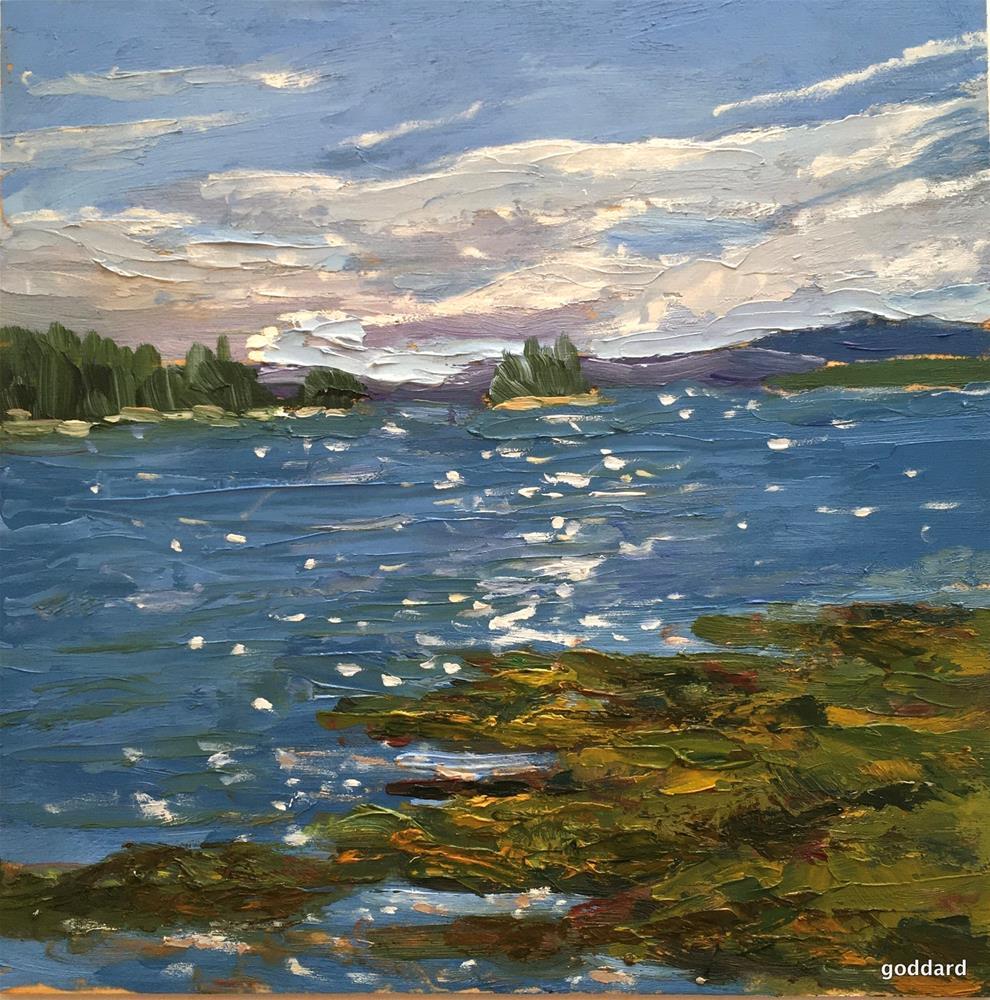 """Island Sparkle"" original fine art by Shari Goddard Shambaugh"