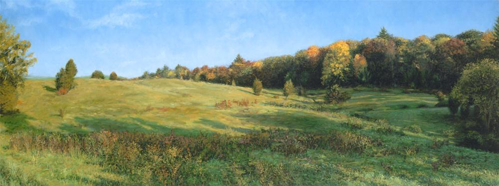 """Autumn Knoll"" original fine art by Danny O'Leary"