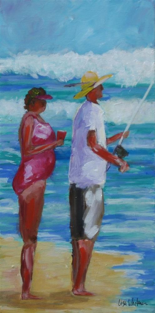 """""""117 - All Day Long"""" original fine art by Lisa Rogers"""