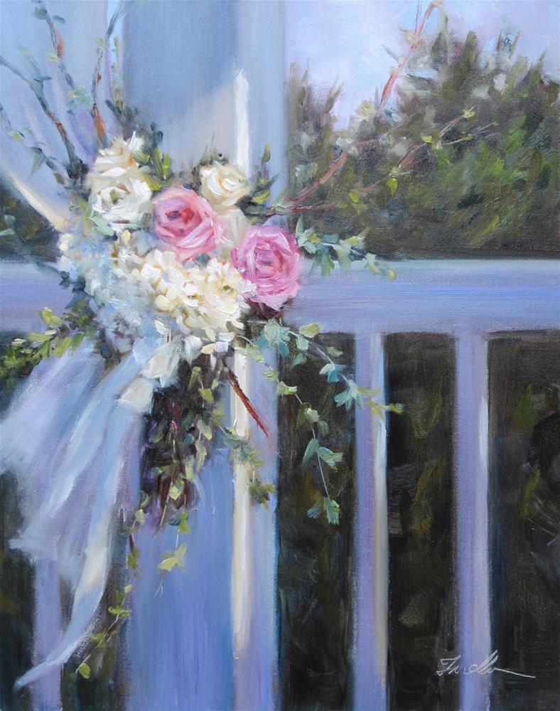 """""""Wedding Day"""" original fine art by Pat Fiorello"""