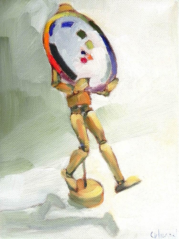 """""""My Mannequin"""" original fine art by Cheryl Wilson"""