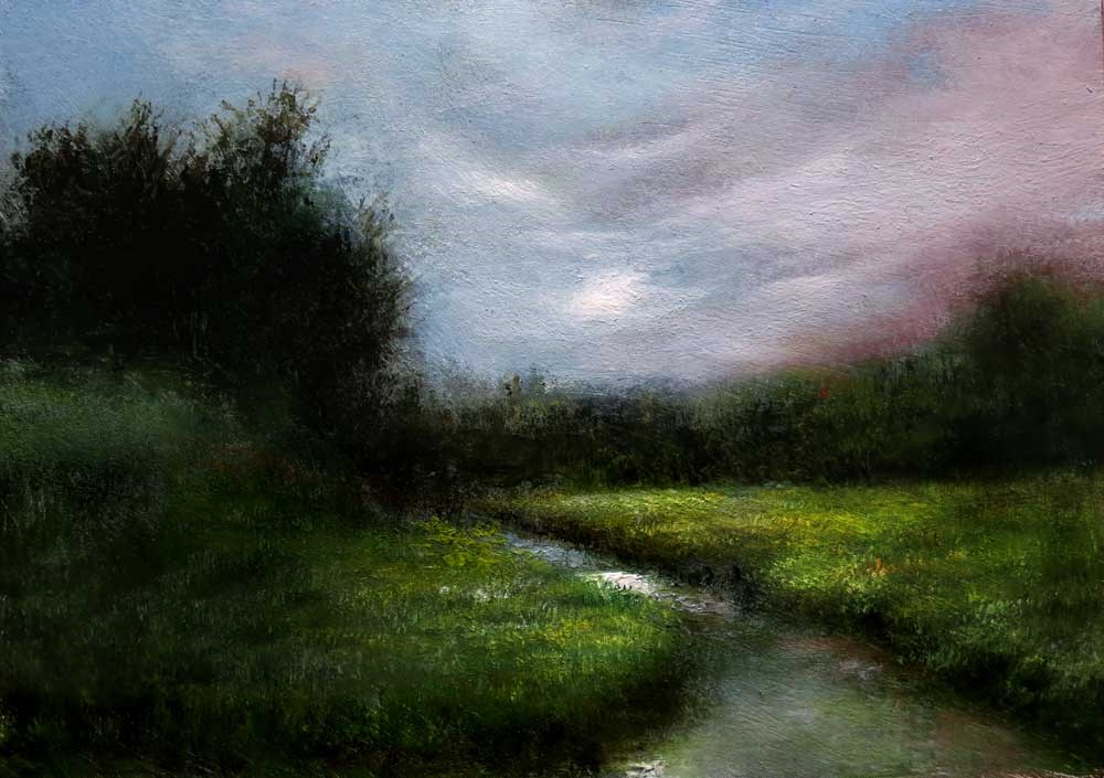 """Southwest River"" original fine art by Bob Kimball"