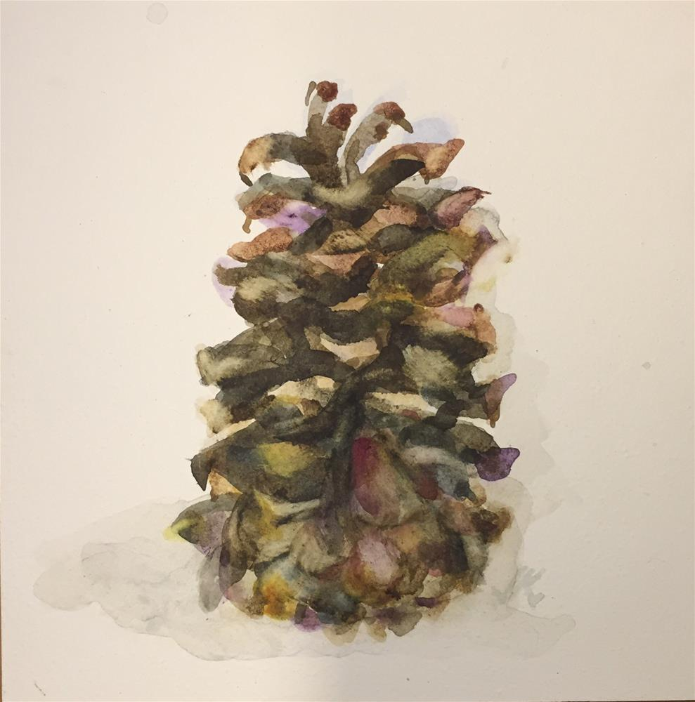 """Inverted"" original fine art by Jean Krueger"