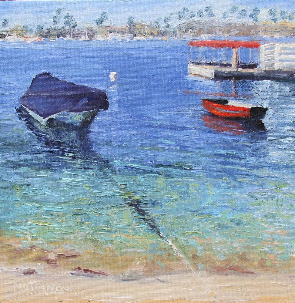 """Balboa Lull"" original fine art by Patricia Matranga"