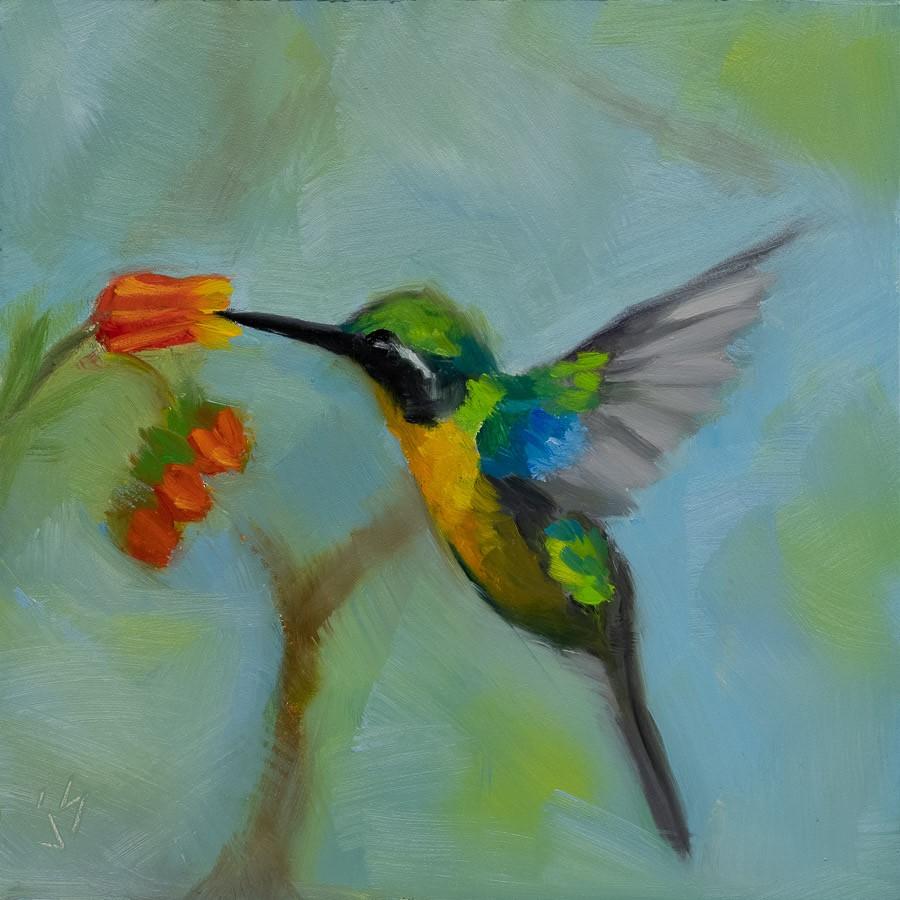 """""""Sweet!"""" original fine art by Johnna Schelling"""