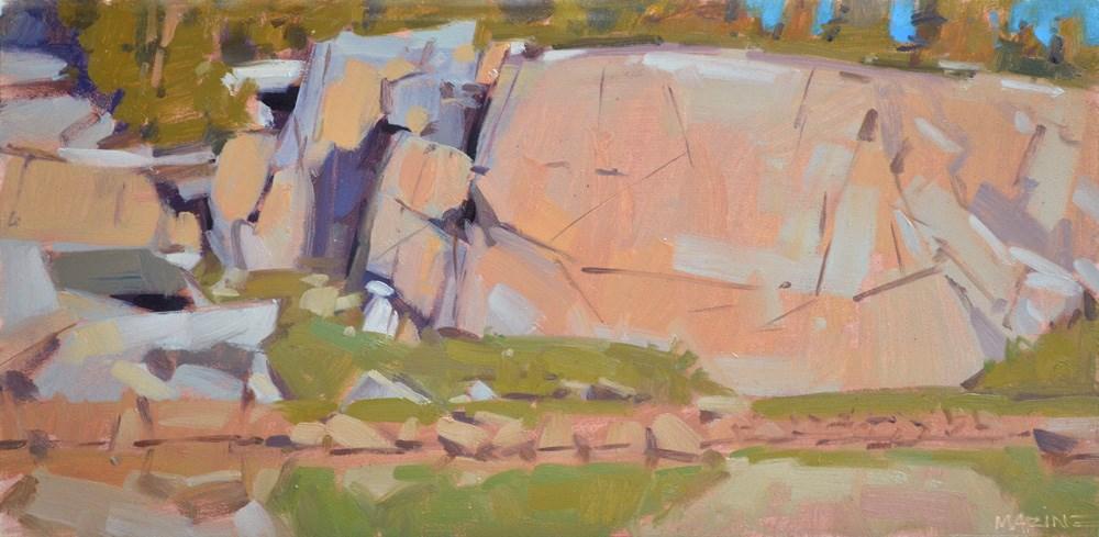 """Lost in the Cracks"" original fine art by Carol Marine"