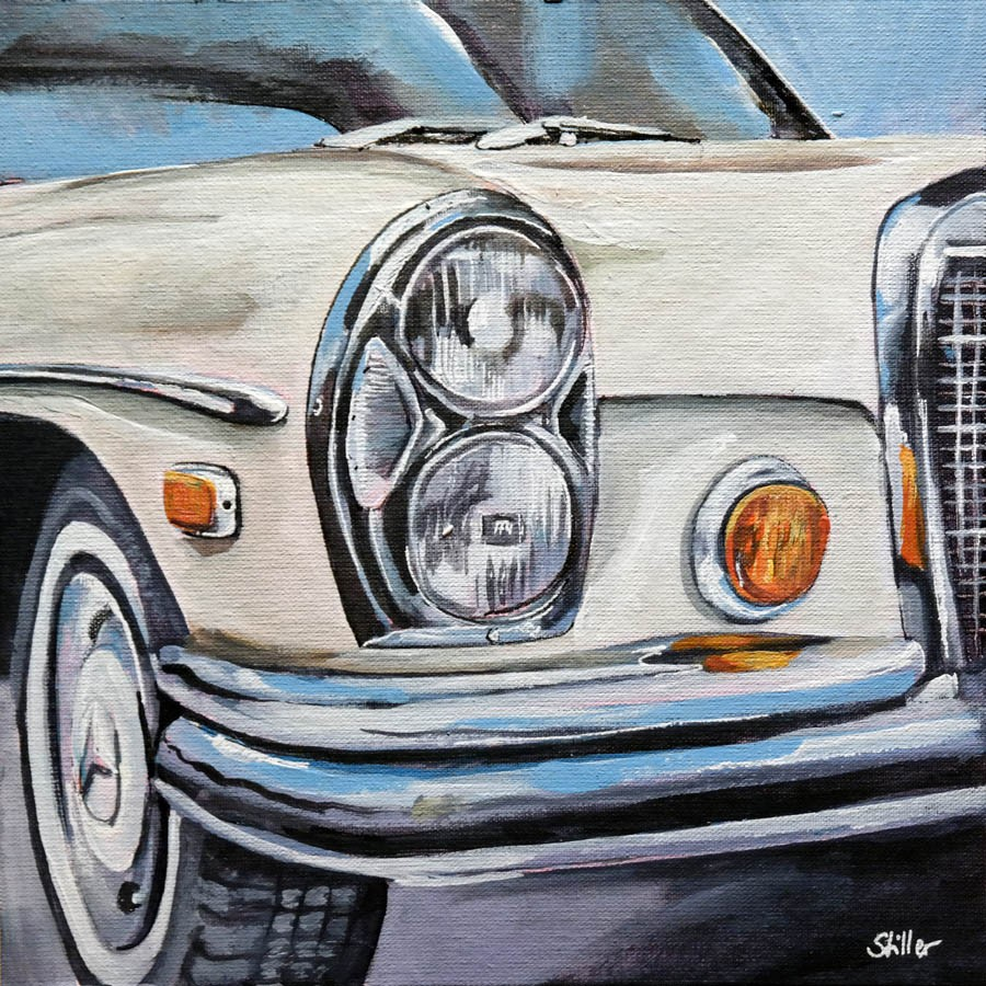 """2690 Mercedes W112"" original fine art by Dietmar Stiller"