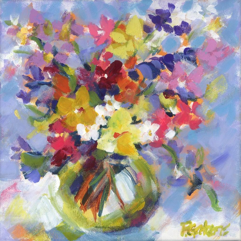 """Small Wonder"" original fine art by Pamela Gatens"