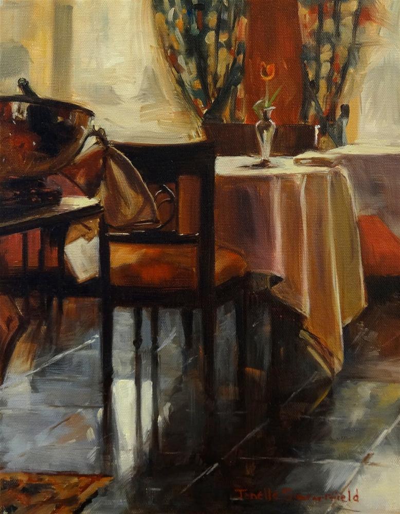 """""""Breakfast Room"""" original fine art by Jonelle Summerfield"""