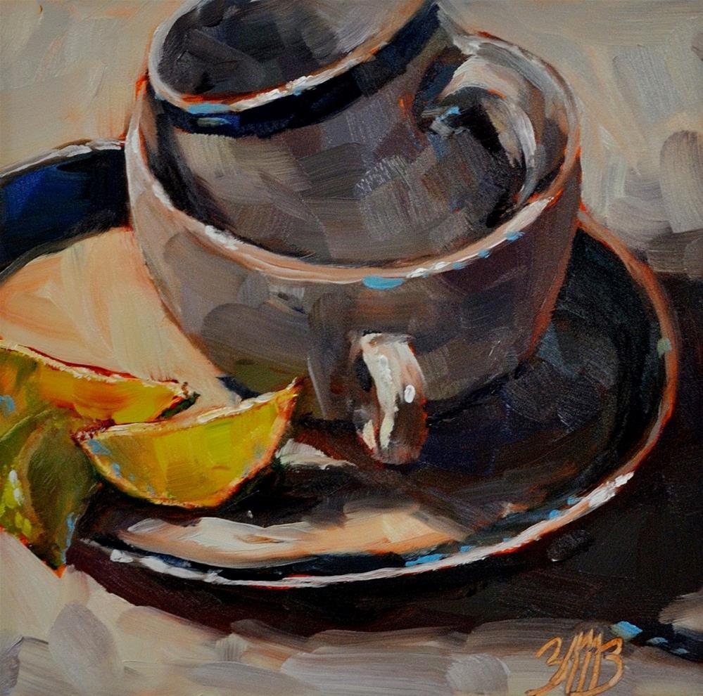 """Slice and Stack"" original fine art by Brienne M Brown"