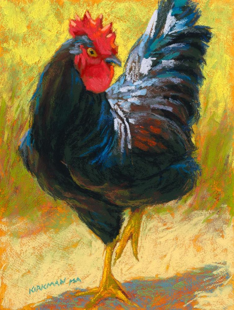 """Widow Chick"" original fine art by Rita Kirkman"