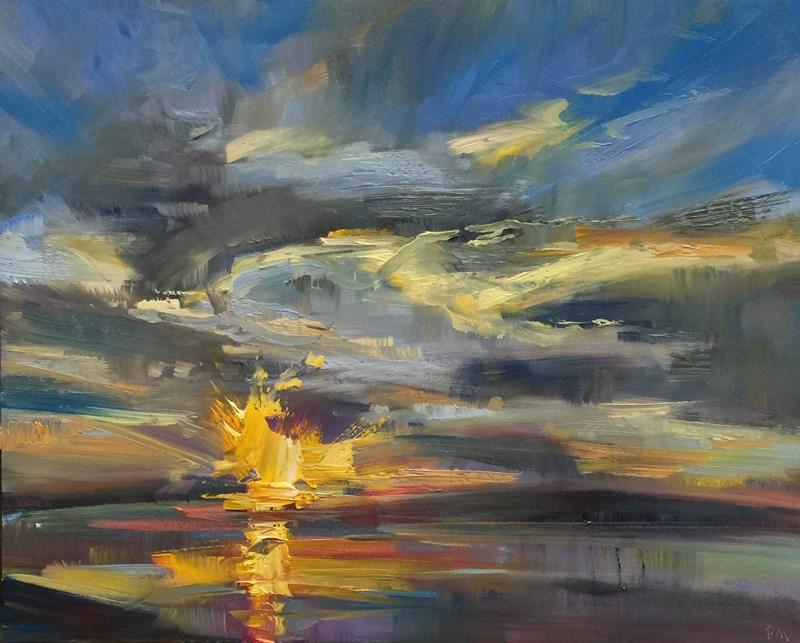 """Mud Bay"" original fine art by Patti McNutt"
