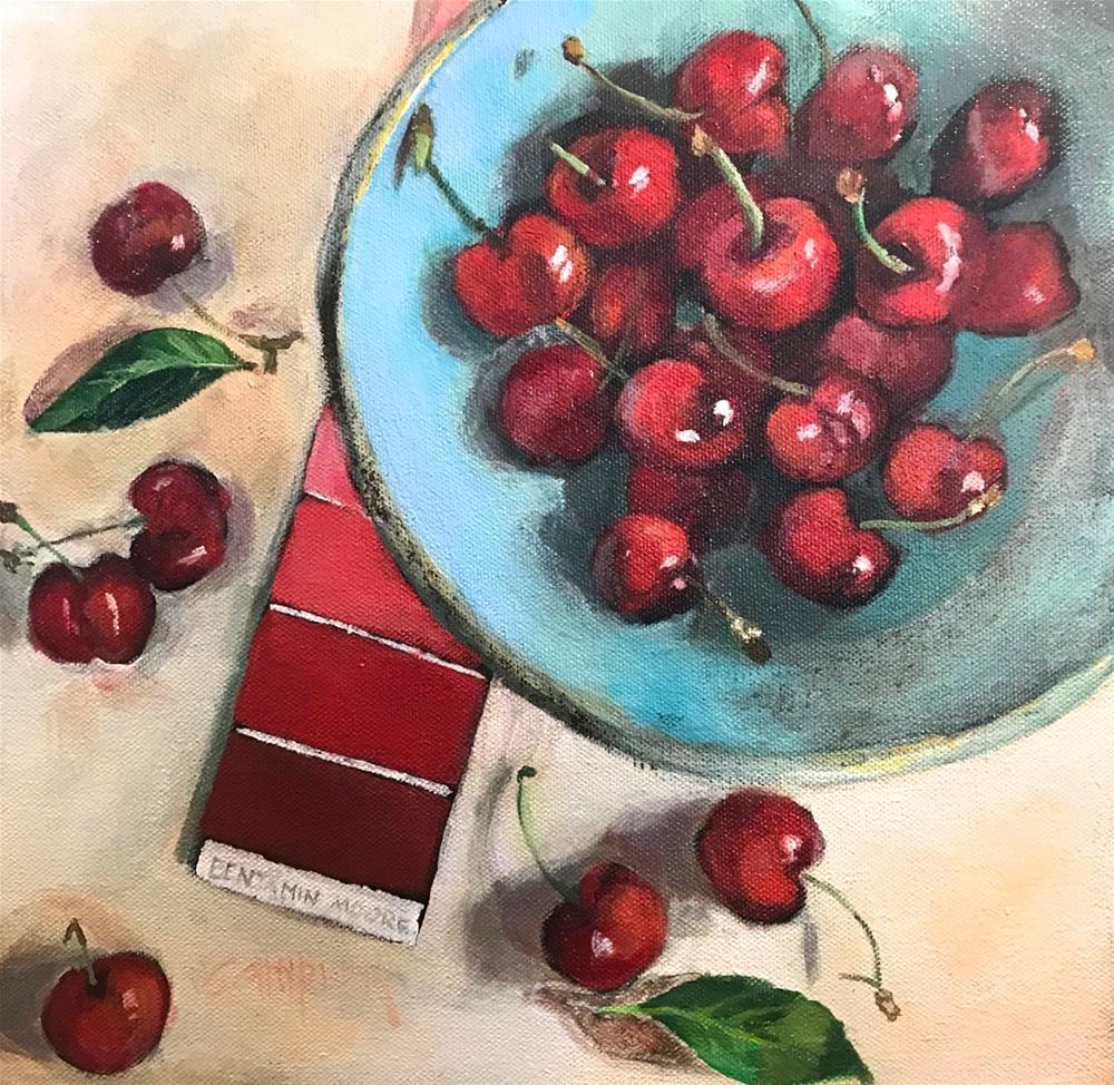"""""""924 Drop Dead Gorgeous"""" original fine art by Diane Campion"""