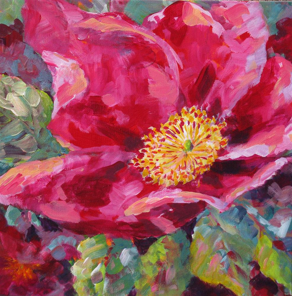 """Wild Rose!"" original fine art by Melissa Gannon"