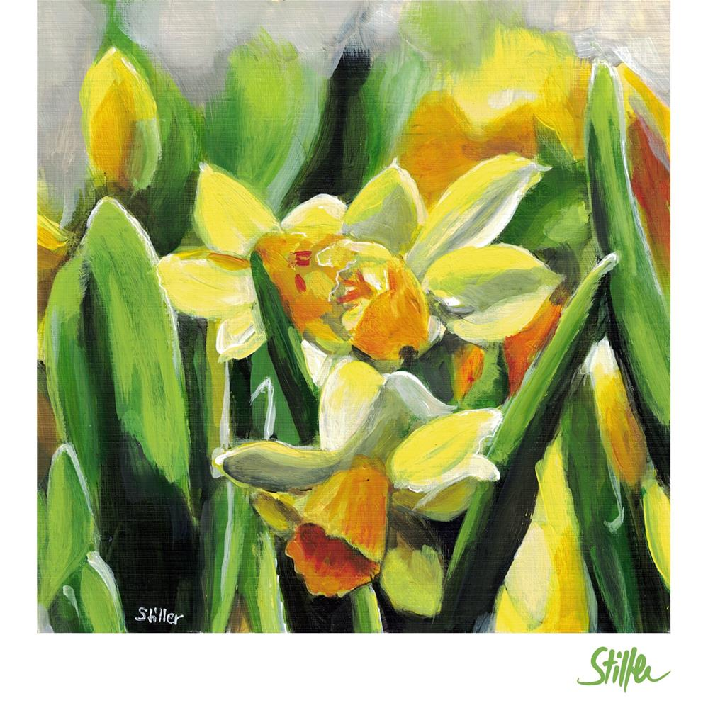 """3521 Jonquils"" original fine art by Dietmar Stiller"