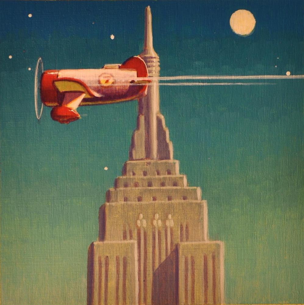 """Beacon"" original fine art by Robert LaDuke"