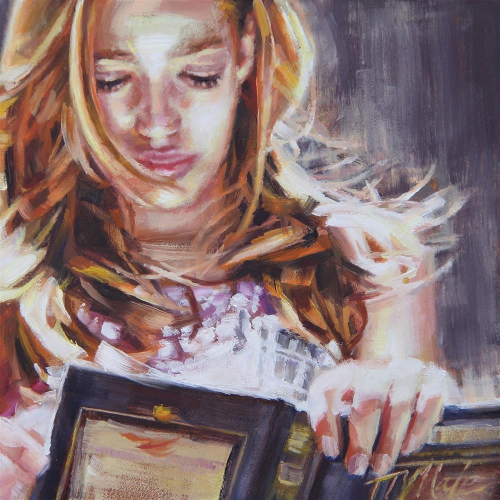 """""""Escape"""" original fine art by Tracy Male"""