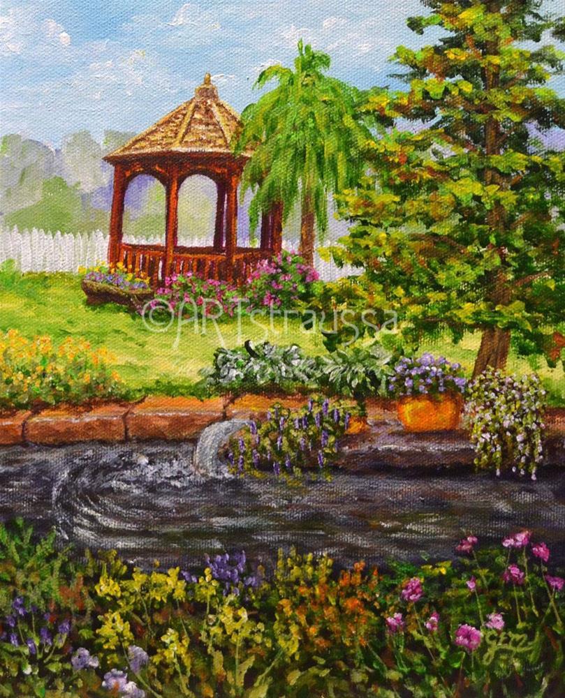 """SALE!!!Aberdeenshire"" original fine art by Gloria Ester"