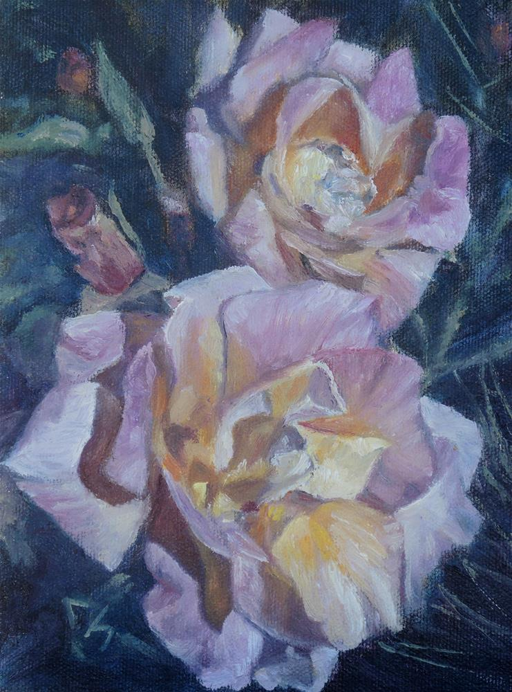 """More of Max's Roses"" original fine art by Candi Hogan"