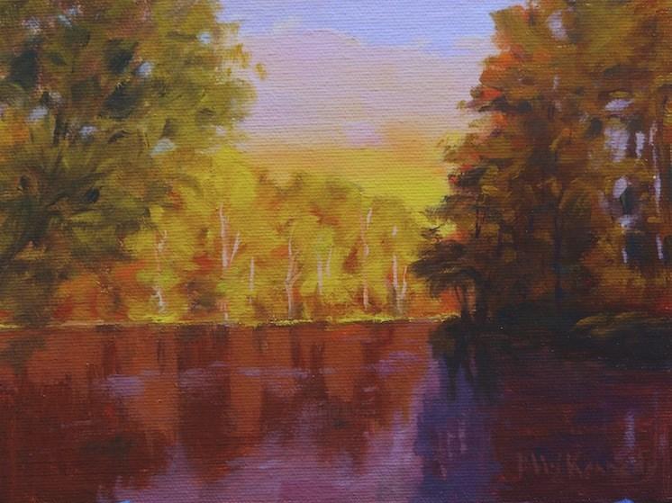 """Reflections #3"" original fine art by Michael Kennedy"