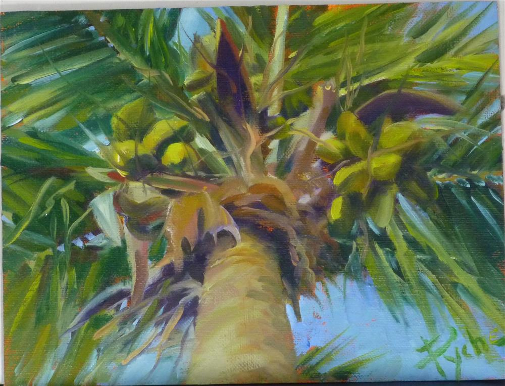 """Happy In Florida 6x8"" original fine art by Mary Pyche"